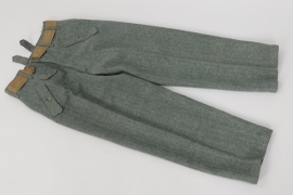 Heer M44 straight trousers - 1945