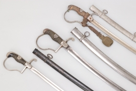 Imperial Germany - lot of three sabres
