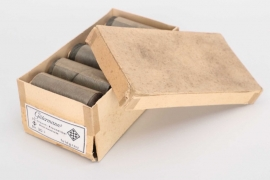 Wehrmacht 10 original thread rolls in box - Gütermann