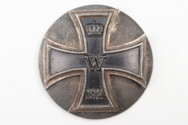 1914 Iron Cross 1st Class on screwback - variant