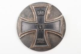 1914 Iron Cross 1st Class on screwback - variant