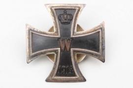 1914 Iron Cross 1st Class on screw-back