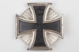1914 Iron Cross 1st Class on screw-back (clamshell) - brass