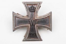 "1914 Iron Cross 1st Class on screw-back - ""938"" variant"
