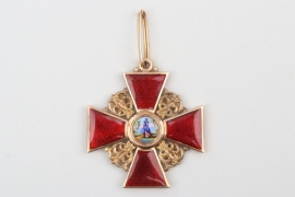 Russia - Order of Saint Anna 2nd Class - gold