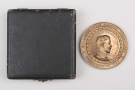 """1895 """"Nordostdeutsche Gewerbe-Ausstellung"""" plaque in case"""