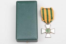 Luxemburg - Order of the Oak Crown, Knight's Cross in case