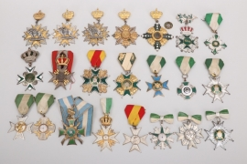 Imperial Germany/Third Reich lot of 22 shooting badges