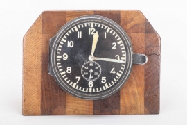 Luftwaffe aircraft clock table decoration