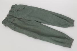 Luftwaffe Fallschirmjäger jumping trousers - 2nd pattern