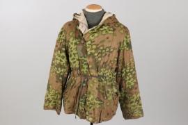 Waffen-SS reversible camo winter parka - oak leaf (spring)