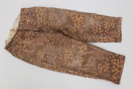 Waffen-SS M37 style oak leaf camo trousers