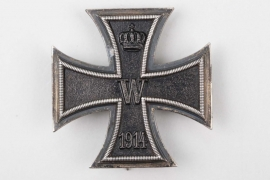 Major Oskar Prager - 1914 Iron Cross 1st Class (engraved)