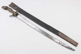 """German forestry dagger """"Hirschfänger"""" - 1780"""