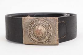 Kradsch.Btl.3 Reichswehr buckle & belt EM/NCO