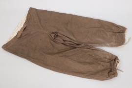 Heer Gebirgsjäger wind trousers - marked