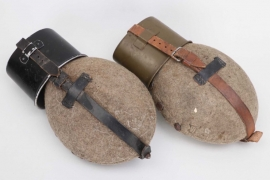 Wehrmacht 2x canteen with cups