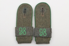 Lt. Pöhlmann - Geb.Jäg.Rgt.98 shoulder boards EM