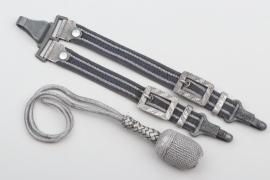 Luftwaffe luxury dagger hangers + portepee