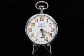 Helvetia - Reichseisenbahn official pocket watch