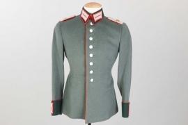 Heer Art.Rgt.112 parade tunic to Lt. Kogg