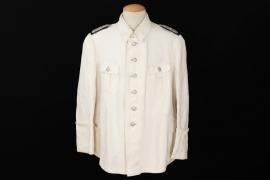 Reichsfinanzverwaltung white summer tunic