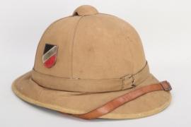 Luftwaffe tropical pith helmet - Lt. Müller