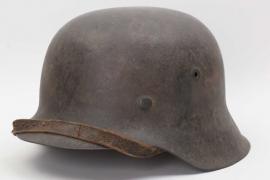 Heer M42 combat helmet - named