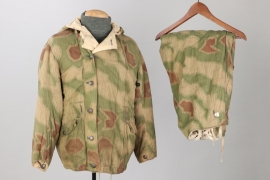Wehrmacht tan & water camo winter parka & trousers