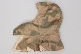 Wehrmacht tan & water camo reversible winter hat