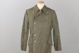 SS-Hscha. Lösch - Waffen-SS rain coat