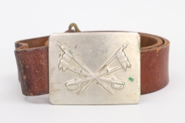 SS-Hscha. Lösch - Spanish Civil War cavalry belt & buckle