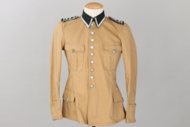 "SS-Hscha. Lösch - Waffen-SS tropical ""South Front"" field tunic"