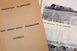 "Great Britain - RAD ""Operation Plainfare"" photo album Lübeck/Berlin"