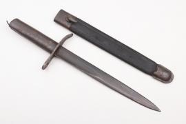 WWI German Ersatz bayonet - (Vetterli Carcano)