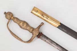 France - gallantry sword around 1750