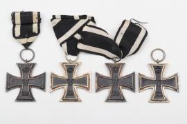 4 x 1914 Iron Cross 2nd Class