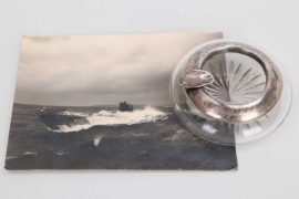 Fischer, Waldemar v. - UB 22 engraved ashtray + UB 126 photograph