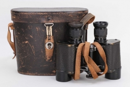 Fischer, Waldemar v. - 8x14 binoculars in leather case (Leitz)