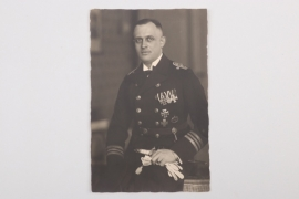Fischer, Waldemar v. - U-Boot commander portrait photo