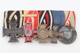 "Johann Rath - 5-place medal bar ""Godet"""
