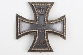 Johann Rath - engraved 1914 Iron Cross 1st Class