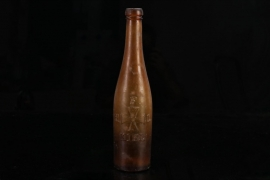 "Imperial Germany - ""H.F.L. Kiel "" glass bottle"