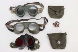 """3 x U-Boot water protection goggles + """"Tauchretter"""" nose clip"""