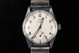 Josef Peters U-202 - Kriegsmarine service watch