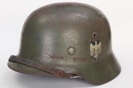 Heer M35 double decal helmet - ET66