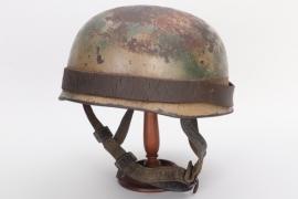 Luftwaffe M38 Fallschirmjäger camo helmet - ET71