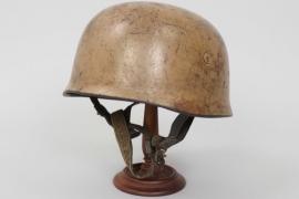 """Luftwaffe M38 Fallschirmjäger """"tropical camo"""" helmet - ET68"""