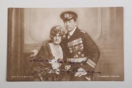 Luckner, Felix Graf von - signed postcard