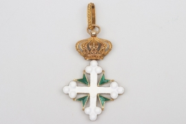 Italy - Order of Saints Maurice and Lazarus, Commander's Cross
